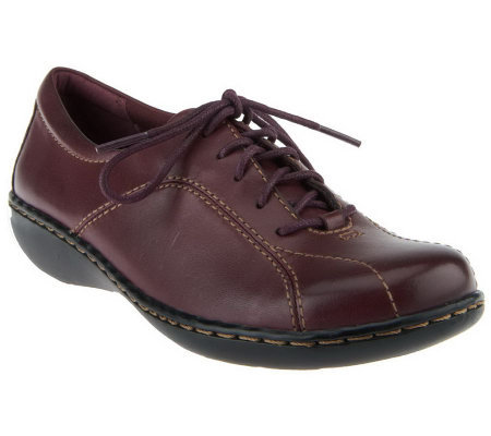 Clarks Leather Lace-up Shoes - Ashland Pearl