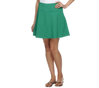 Women with Control Petite Tummy Control Flounce Skort - A252822