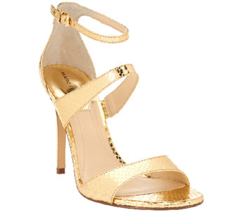 """As Is"" Marc Fisher Ankle Strap Sandals - Gentry - A270122"