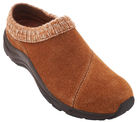 Vionic Water-Resistant Clogs with Knit Collar - Arbor