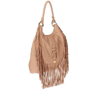 """As Is"" G.I.L.I. Convertible Backpack with Fringe - A272022"