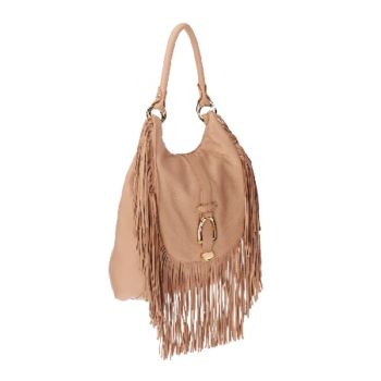 As Is G.I.L.I. Convertible Backpack with Fringe