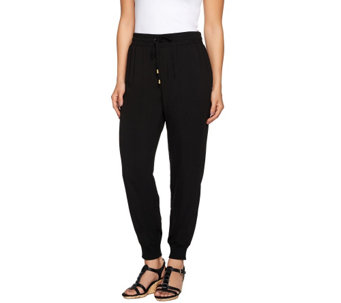 """As Is"" Whitney Port Pull-On Jogger Pants with Pockets - A277222"