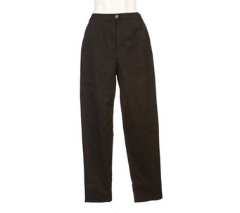 """As Is"" EffortlessStyle by David Dart Stretch Twill Pants - A279322"