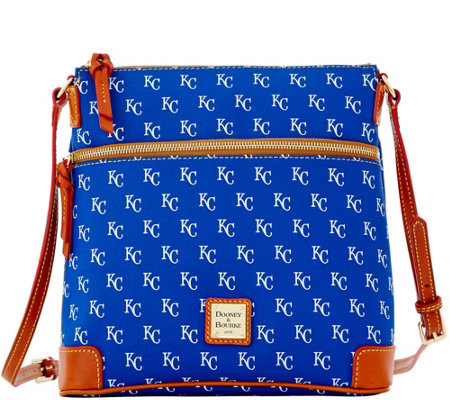 Dooney & Bourke MLB Royals Crossbody