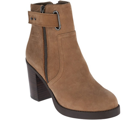 """As Is"" Sole Society Nubuck Ankle Boots- Jessy"