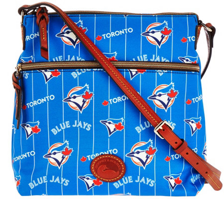 Dooney & Bourke MLB Nylon Blue Jays Crossbody