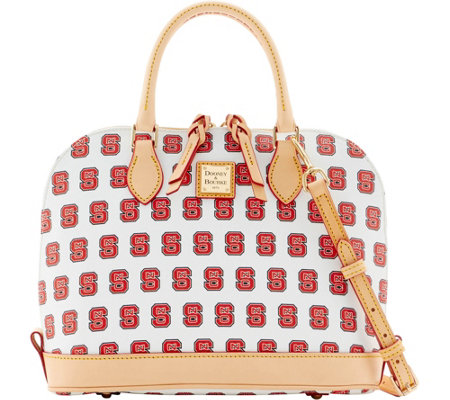 Dooney & Bourke NCAA NC State University Zip Zip Satchel
