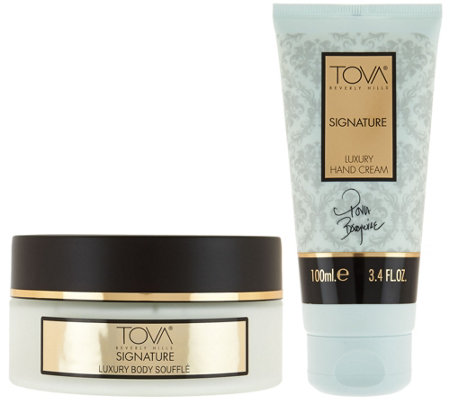 TOVA Signature Body Souffle & Hand Cream Duo