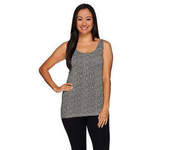 """As Is"" Cuddl Duds Softwear Stretch Reversible Tank Top - A292222"