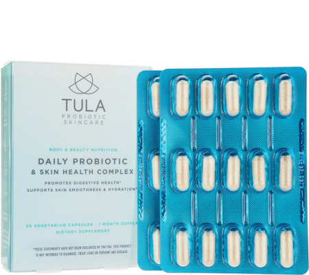 TULA by Dr. Raj Daily Probiotic Supplement 30-Day Supply