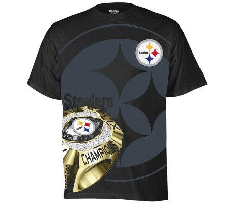 Nfl Steelers Super Bowl Xlv Champions Ring Sidexlv T Shirt