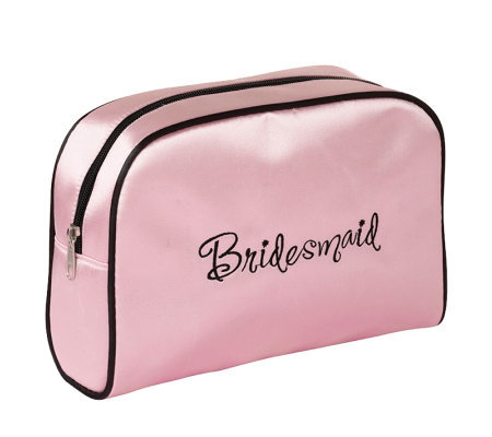 Bridesmaid Pink Travel Bag