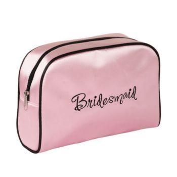 Bridesmaid Pink Travel Bag