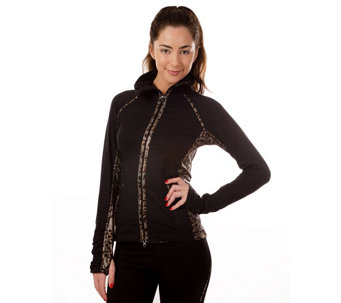 90 Degree by Reflex Zip Front Jacket - A332422