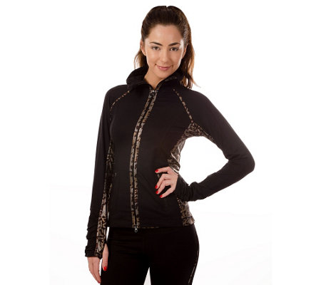 90 Degree by Reflex Zip Front Jacket