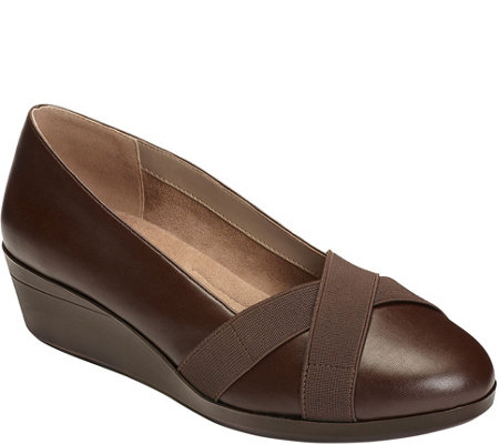A2 by Aerosoles Heel Rest Slip On Wedges - Truce