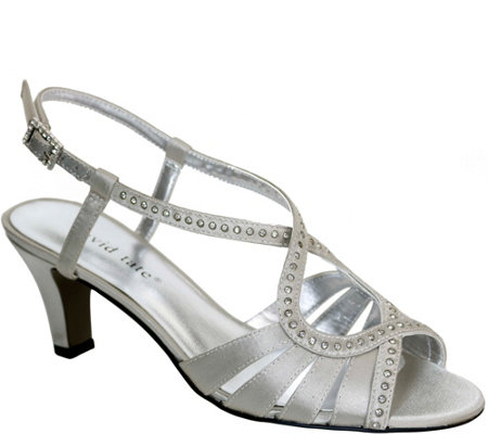 David Tate Dress Sandals - Whisper