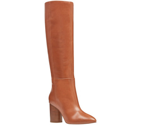 Nine West Tall Leather Boots - Christie
