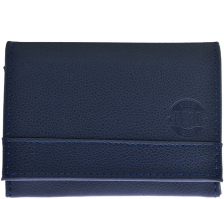 HERO Goods James Wallet, Blue