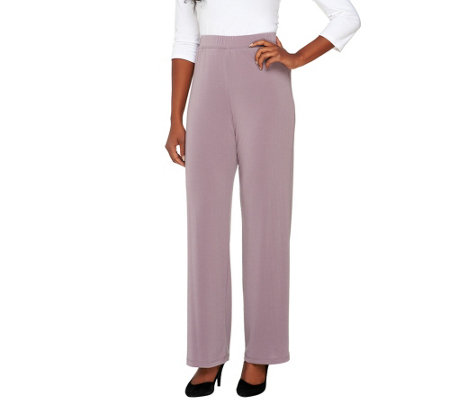 George Simonton Crystal Knit Pull-On Pants
