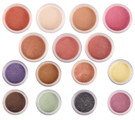 bareMinerals Bells and Whistles 15-pc Eye and Face Collection