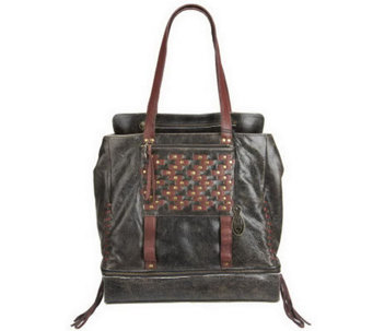 """As Is"" Muxo by Camila Alves Leather North South Tote - A228423"