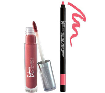 IT Cosmetics Perfect Lip Hydrating Gloss & Liner Stain Duo - A236723