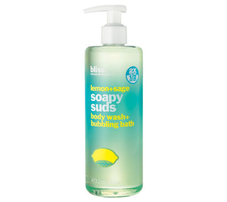 bliss Lemon+Sage Soapy Suds