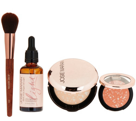 Josie Maran Argan Oil 4 Piece Complexion Collection