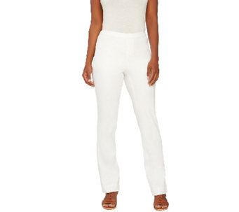 Liz Claiborne New York Jackie Power Twill Stretch Pants - A264123
