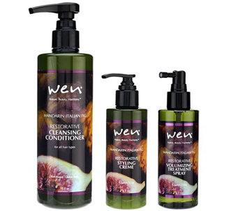 WEN by Chaz Dean Rice Protein Cleanse & Volumize Kit - A266123