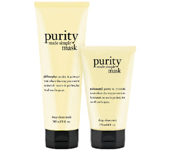 philosophy purity deep-clean mask 8oz & 4oz duo - A270523