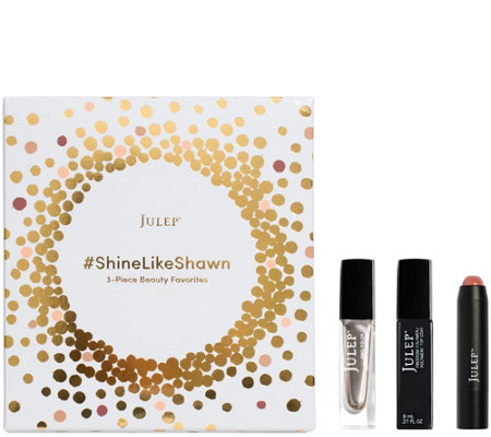 Julep Shine Like Shawn 3-pc  Nail & It's Balm Collection