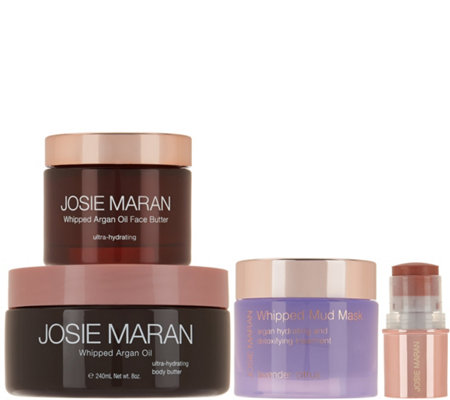 Josie Maran 4 pc. Face & Body Whipped Argan Spa Set