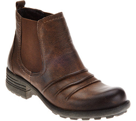 Earth Leather Chelsea Boots - Piper