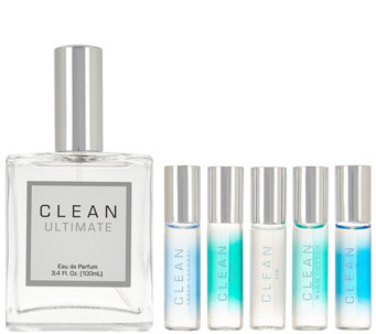 CLEAN Ultimate 3.4 oz Eau de Parfum & Rollerball Set - A285123