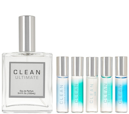 CLEAN Ultimate 3.4 oz Eau de Parfum & Rollerball Set