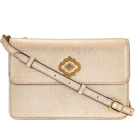 orYANY Pebble Leather Crossbody - Ivy