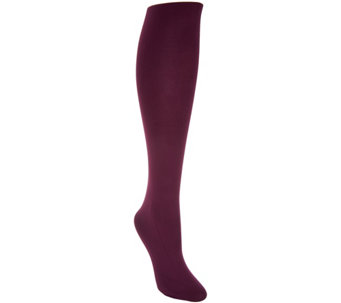 LOGO by Lori Goldstein Opaque Knit Tights - A288623
