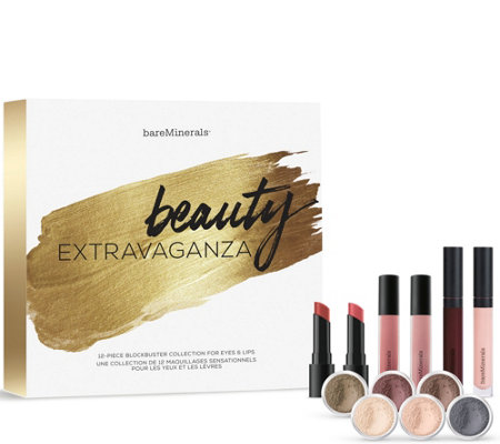 bareMinerals Beauty Extravaganza 12-pc Eye & Lip Blockbuster