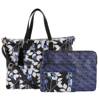 DENA Weekender with Pouch and Laptop Case