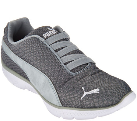 """As Is"" PUMA Mesh Slip-On Sneakers - FashIn Alt Illusion"