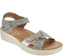 Earth Origins Adjustable Multi Strap Sandals - Gaven - A304223