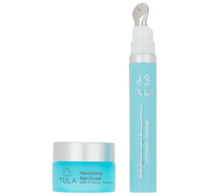 TULA by Dr. Raj Day & Night Probiotic Eye Treatment Duo