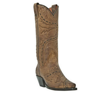 Dan Post Leather Cowboy Boots - Sidewinder - A321023