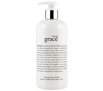 philosophy living grace firming body emulsion,16 oz - A330023