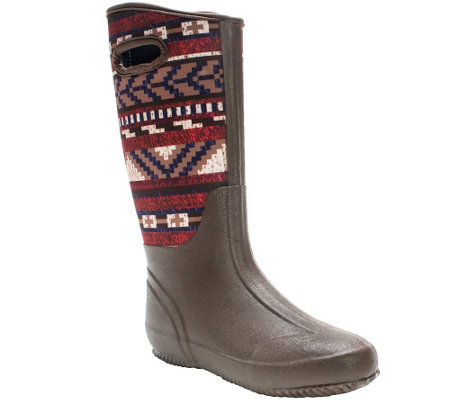 MUK LUKS Karen Pull-On Rain Boot