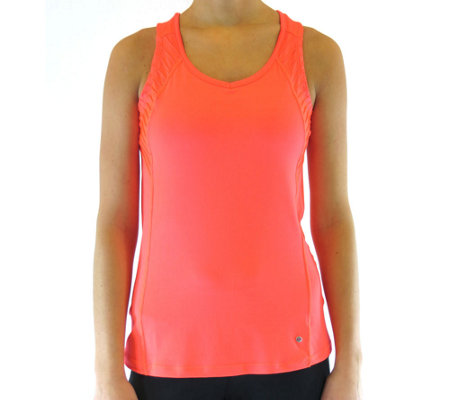 Ryka Performance Pintuck Sleeveless Top