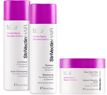 StriVectin HAIR Ultimate Restore Starter Trio - A339623